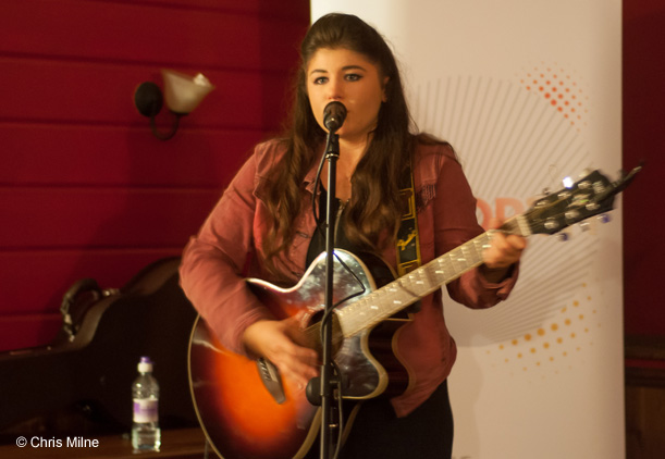 Jemma Tweedie at The Abbey Inn